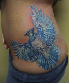 Blue Jay Tattoo by Fwa | InkFREAKZ.com