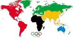 This is the meaning of the Olympic rings - 9GAG