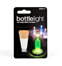 Suck UK Lamp voor in een fles Bottle Light