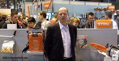 ANDREAS STIHL S.A.S. : Découvrez la stratégie de Stihl, à propos des nouvelles gammes de matériels à batteries, présentée à Paysalia 2015 par Régis GUIMONT, Directeur Général France