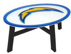 NFL SDC San Diego Chargers Coffee Table