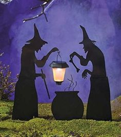 Witch cottage cubby house inspiration on pinterest witch for 3 witches halloween decoration