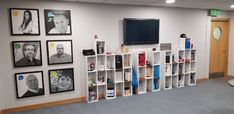 Our Edinburgh office reception has undergone a mini-makeover! We now have this stylish section displaying just some of the massive range of bespoke branded products we can provide to businesses