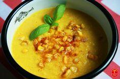 Zupa krem z kukurydzy Chana Masala, Vegan Gluten Free, Cheeseburger Chowder, Veggies, Food And Drink, Ethnic Recipes, Gastronomia, Diet, Vegetable Recipes