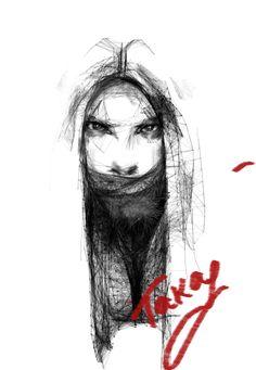 графика,портрет,portrait, graphics