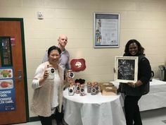 Pleasure to work with a Administrative Team that believes in cultivating a positive school climate....cocoa bar ready is ready for the faculty and staff.