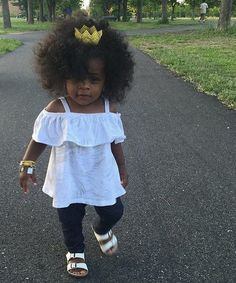 40 Cute Hairstyles for Black Little Girls 2017 Cute Black Babies, Beautiful Black Babies, Cute Baby Girl, Beautiful Children, Baby Love, Cute Babies, Baby Girls, Chocolate Babies, Baby Swag