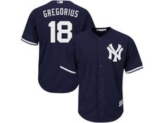"""Men s Majestic New York Yankees  18 Didi Gregorius Replica Navy Blue  Alternate MLB Jersey d11eec0ec"