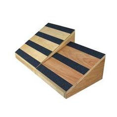 Stretch your calves and ankles with wooden slant boards from Ideal Products. These stretching aids feature different angles to target different muscle groups. Foot Pain, Stretching, Therapy, Boards, Gift Ideas, Health, Planks, Health Care, Stretching Exercises