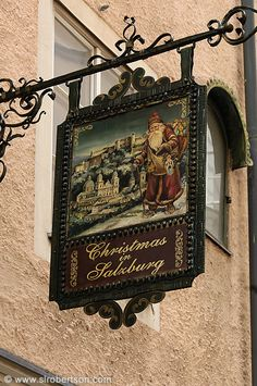 Photo of Salzburg Sign 1 Storefront Signage, Metal Signage, Sculpture Metal, Displays, Pub Signs, Shop Fronts, Business Signs, Store Signs, Hanging Signs