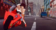 Neo-Tokyo, the setting of the 1988 film Akira, is one of anime's most iconic environs. Let's take a closer look at the city that helped bring anime to the West. Film D'animation, Film Books, Film Stills, Tetsuo Shima, Akira Tetsuo, Grand Prix, Divas, Japan Expo, Akira Anime