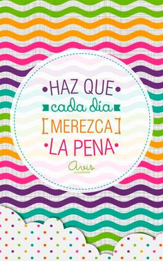 Cada día. Motivacional Quotes, Smart Quotes, Girly Quotes, Happy Quotes, Quotes En Espanol, Mr Wonderful, Something To Remember, More Than Words, Spanish Quotes