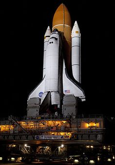 Space Shuttle Discovery on its way to Launch Pad 39A for STS-133.jpg