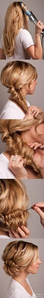 Romantic Date Night Hairstyle
