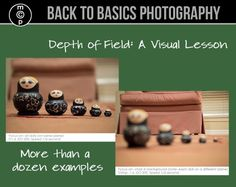 Depth of Field: A Visual Lesson