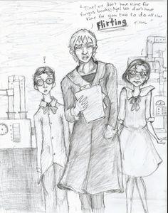 Violet-Series of Unfortunate Events Clip Art