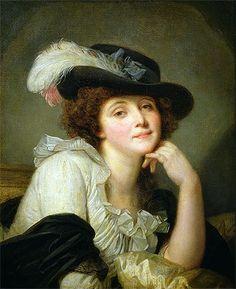 Painting Title: Portrait of Sophie Arnould, c.1786   Artist: Jean-Baptiste Greuze (1725-1805)   Medium: Fine Art Painting Reproduction by TOPofART.com