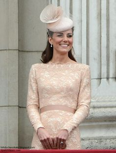 Duchess Kate: The Duchess repeats McQueen Favourite at The Queen's Garden Party