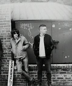 Alex & matt of Arctic Monkeys :)