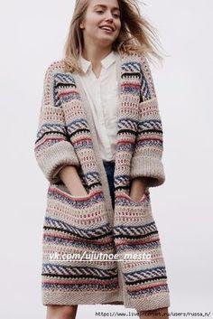 e78920264b2f Кардиганы: лучшие изображения (153) | Knit jacket, Lace cardigan и ...