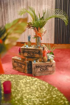 Cuban Party Theme, Havana Nights Party Theme, Party Themes, Havanna Nights Party, Havanna Party, 50th Party, 40th Birthday Parties, Party Decoration, Tropical Party