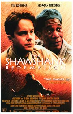 Shawshank Redemption Tim Robbins Morgan Freeman Movie Poster 11x17