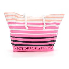 Victoria's Secret Tote (645 ARS) ❤ liked on Polyvore featuring bags, handbags, tote bags, pink, victoria secret handbag, handbags totes, victoria secret tote, man bag and man tote bag
