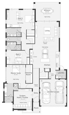 Vespa Display Home - Lifestyle Floor Plan