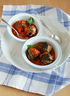 Aubergine Meatballs Recipe - http://easy-lunch-recipes.com/aubergine-meatballs-recipe/