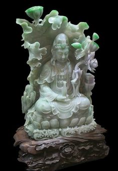 El Valor del Jade - Far Goods Le Jade, Soapstone Carving, China Art, Guanyin, Jade Jewelry, Jade Stone, Buddhist Art, Rocks And Gems, Chinese Culture