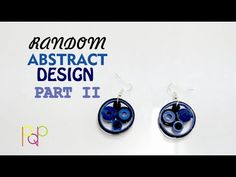 YouTube In this video showing you how to make another type of abstract #design #quilling #earring. check out the earlier type and tell me which one would you prefer