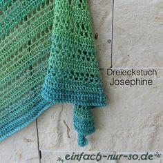 Gehäkeltes Dreieckstuch Josephine