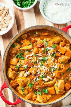 chicken, sweet potato, and coconut stew 1