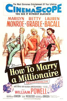 """""""How To Marry A Millionaire"""" (1953)"""
