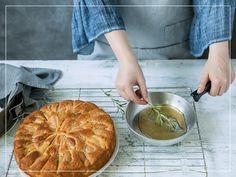 Apfel-Rosmarin-Kuchen Apple Pie, Cooking, Desserts, Food, Apple, Food Cakes, Food Food, Recipes, Kitchen
