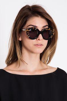 Karen Walker - Crazy Tortoise Flowerpatch Sunglasses - Acrimony