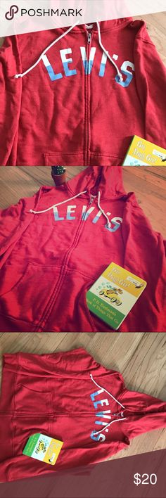 Levi's Women Hoodie True to size; fits well and comfortable cotton Levi's Other