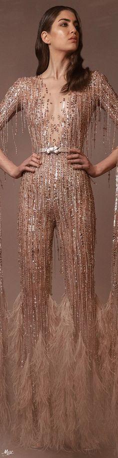 Zuhair Murad, All Things, Beige, Elegant, House Styles, Inspiration, Sparkle, Nude, Dresses