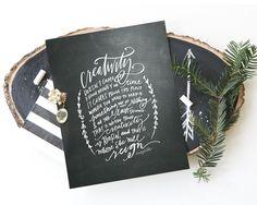Lindsay Letters - Creativity Print