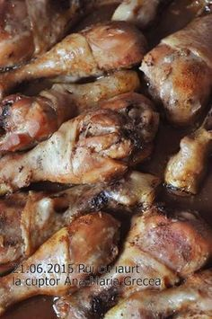 Chicken Steak, Good Food, Yummy Food, Romanian Food, Casserole Recipes, Seafood, Chicken Recipes, Oven, Food And Drink