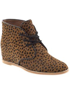 cheetah boots