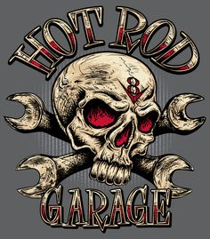Image detail for -Hot Rod Skull