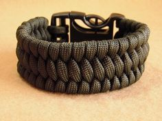 Olive Drab 550 Paracord Wide Ladder Rack Knot by TandRTreasures, $10.00