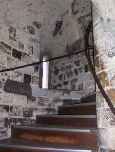 Tower of London. First Pic i have seen of a stair case from the tower. Its amazing to see the stairs that so many souls walked and lost thier lives in this tower.