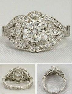 Wedding Rings: Vintage Engagement Rings