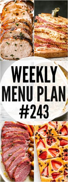 WEEKLY MENU PLAN ( – A delicious collection of dinner, side dish and dessert recipes to help you plan your weekly menu and make life easier for you! In these menu plans, we will be Argula Recipes, Coliflower Recipes, Weekly Menu Planning, Meal Planning, Healthy Low Calorie Meals, Healthy Recipes, Healthy Eating, Dinner Recipes, Dessert Recipes