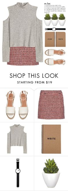 """""""Untitled #1128"""" by chantellehofland ❤ liked on Polyvore featuring dVb Victoria Beckham, H&M, Rosendahl and Pomax"""