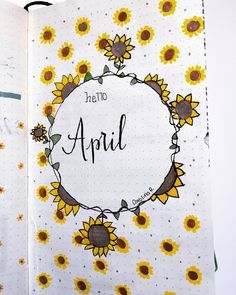 15 Wonderful April Bullet Journal Cover Pages to Inspire You - 15 Wonderful April Bullet Journal Cover Pages to Inspire You Sie sind an der richtigen Stelle für - April Bullet Journal, Bullet Journal Quotes, Bullet Journal Cover Page, Journal Fonts, Bullet Journal School, Bullet Journal Themes, Bullet Journal Layout, Journal Covers, Bullet Journal Inspiration