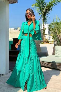 Load image into Gallery viewer, Fashion Lapel Collar Pagoda Sleeve Maxi Dress Suit Casual Dresses, Fashion Dresses, Formal Dresses, Maxi Dresses, Maxi Dress With Sleeves, Dress Up, Summer Outfits, Summer Dresses, Dress Suits