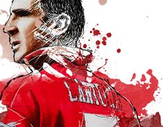 """Check out new work on my @Behance portfolio: """"Eric """"Le King"""" Cantona"""" http://be.net/gallery/35040867/Eric-Le-King-Cantona"""